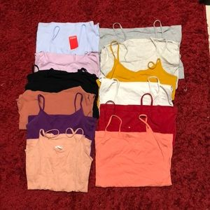 Pack of 12 tank tops